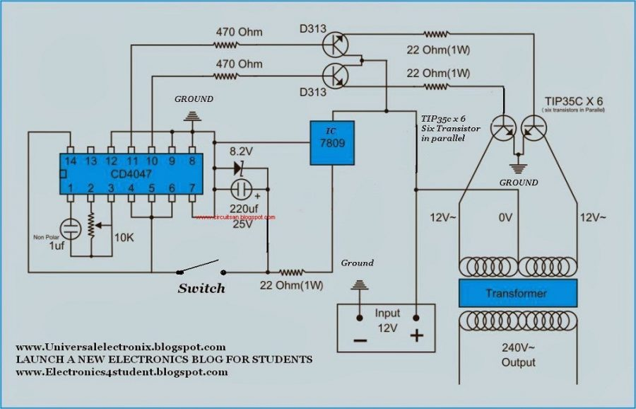 schematic diagram circuit