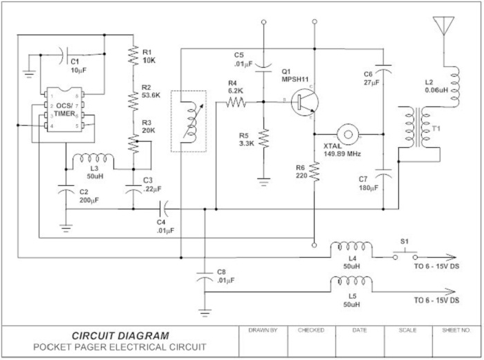 schematic diagram sample