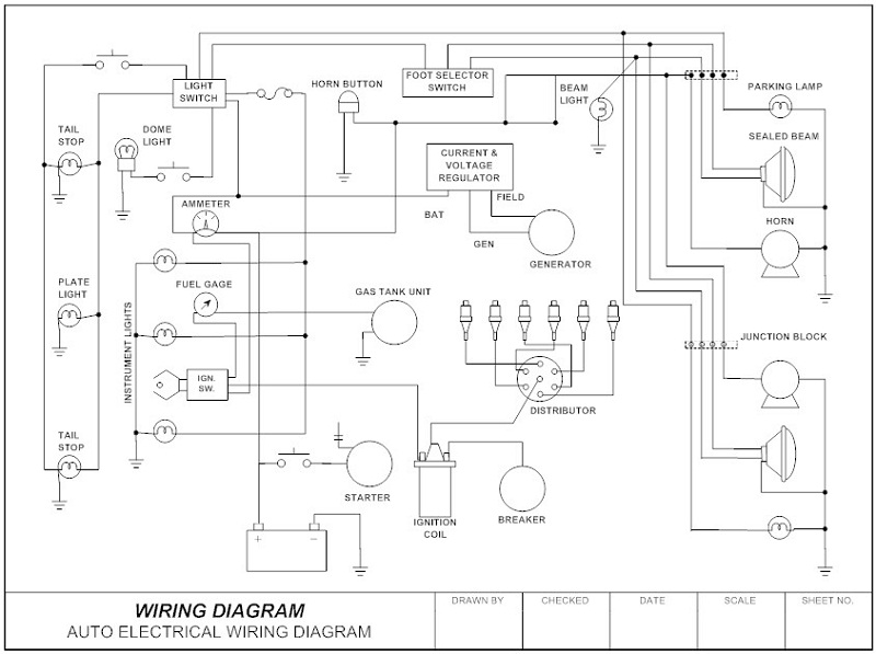 schematic diagram template