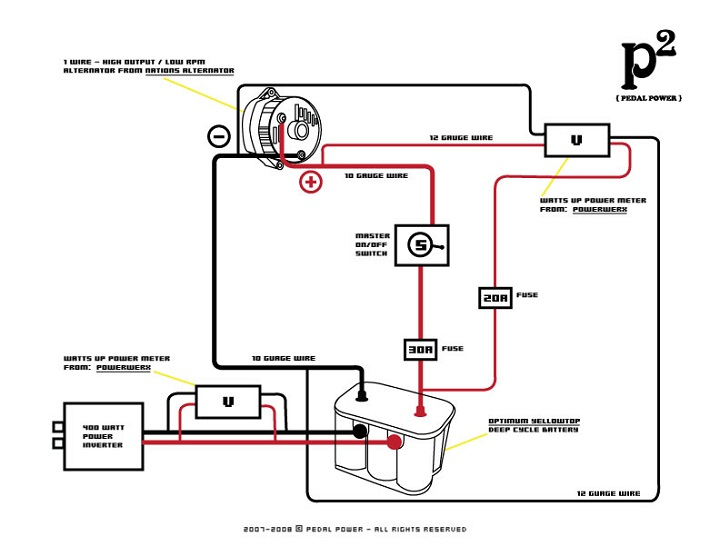 battery diagram example