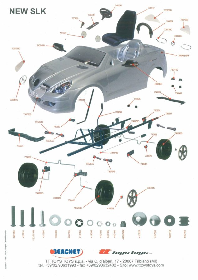 car parts diagram example