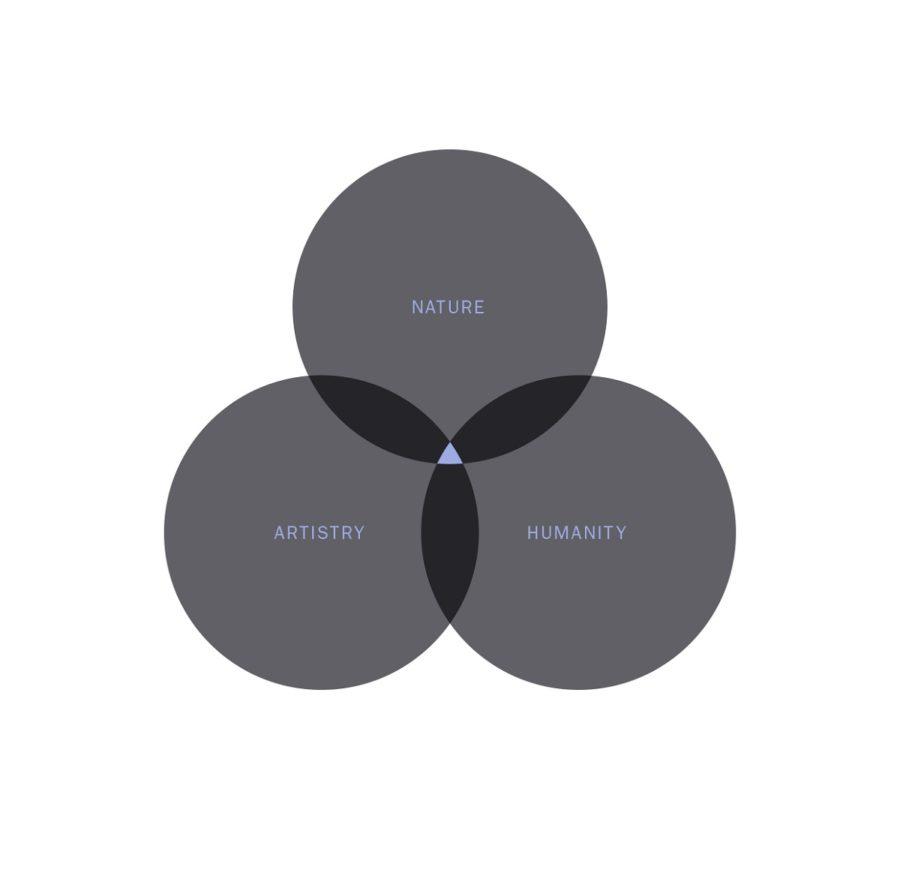 3 circle venn diagram simple