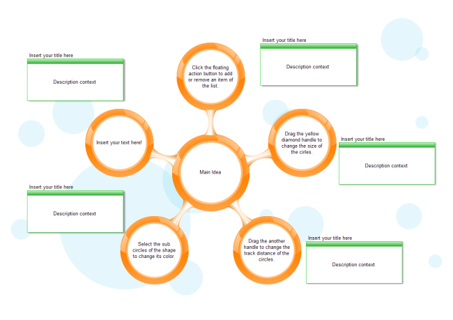 cluster diagram template