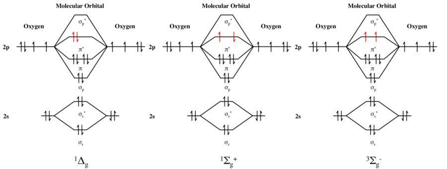 molecular orbital diagram oxygen