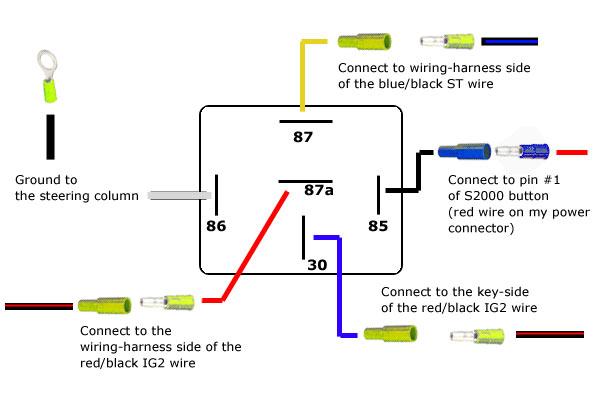 relay diagram 5 pin