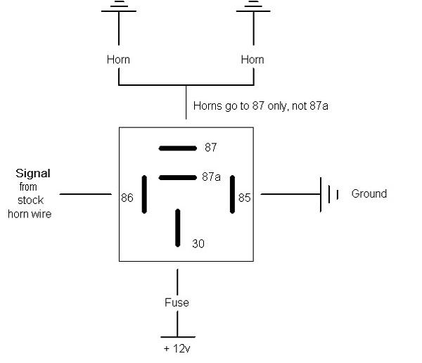 relay diagram electrical