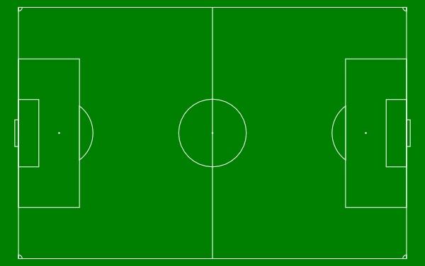 soccer field diagram green