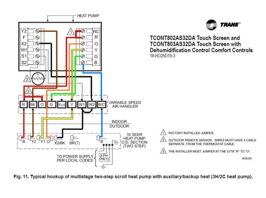 heat pump diagram thermo
