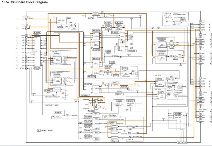 tv diagram plasma