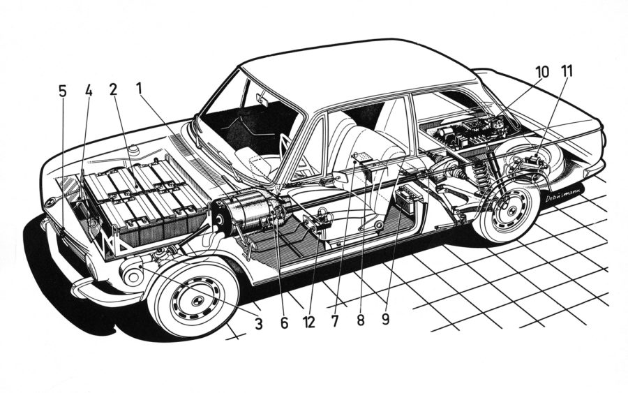 car diagram unlabeled