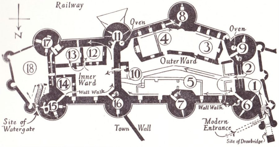 castle diagram old
