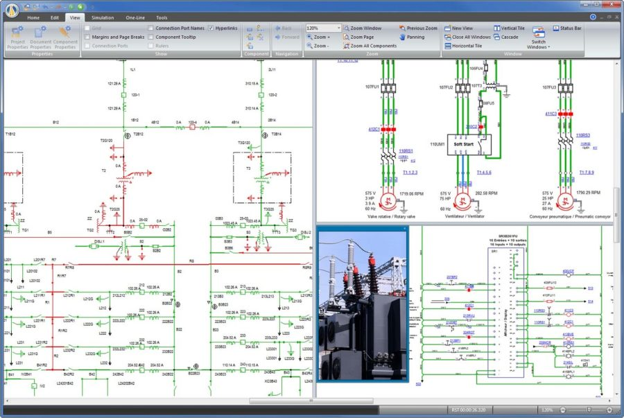 Simple circuit diagram software