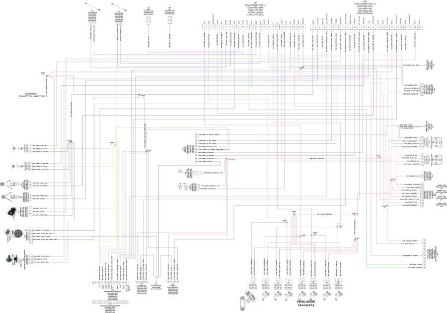 Wire diagram software