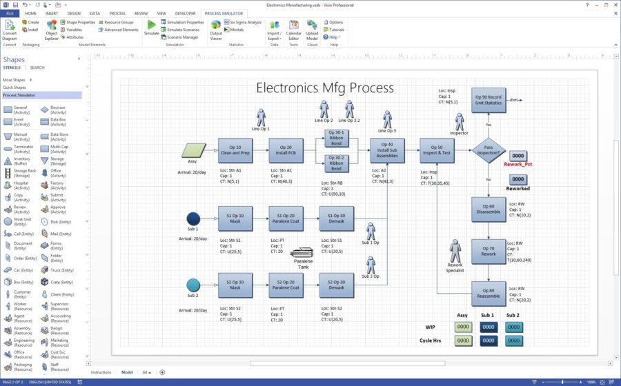 Visio Diagram Examples