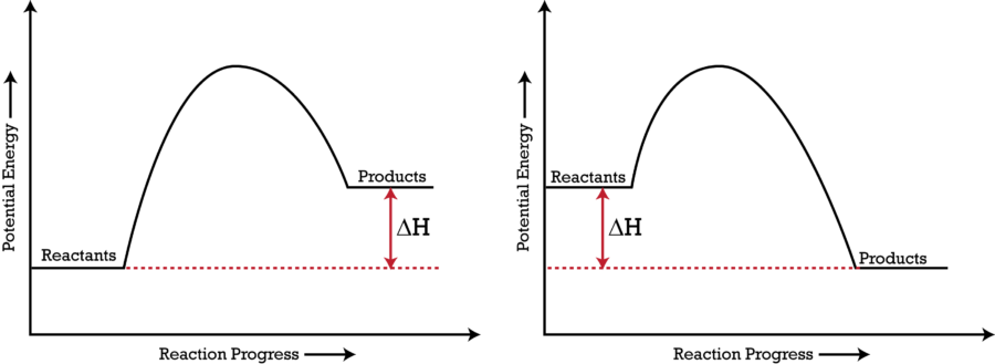 Unlabeled Phase Change Diagram