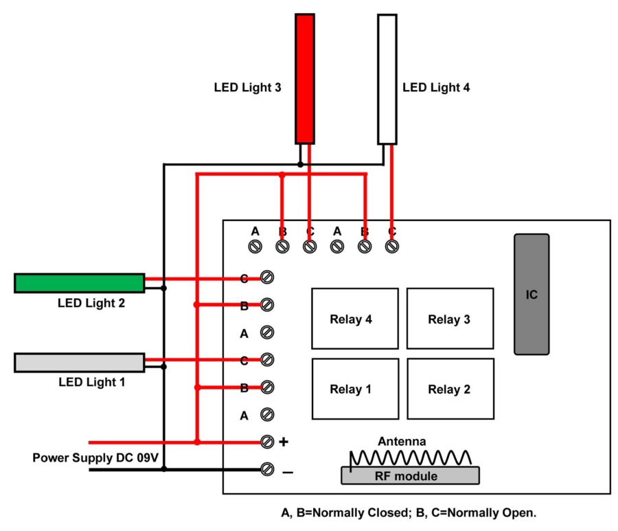 4 Way Switch Diagram Light