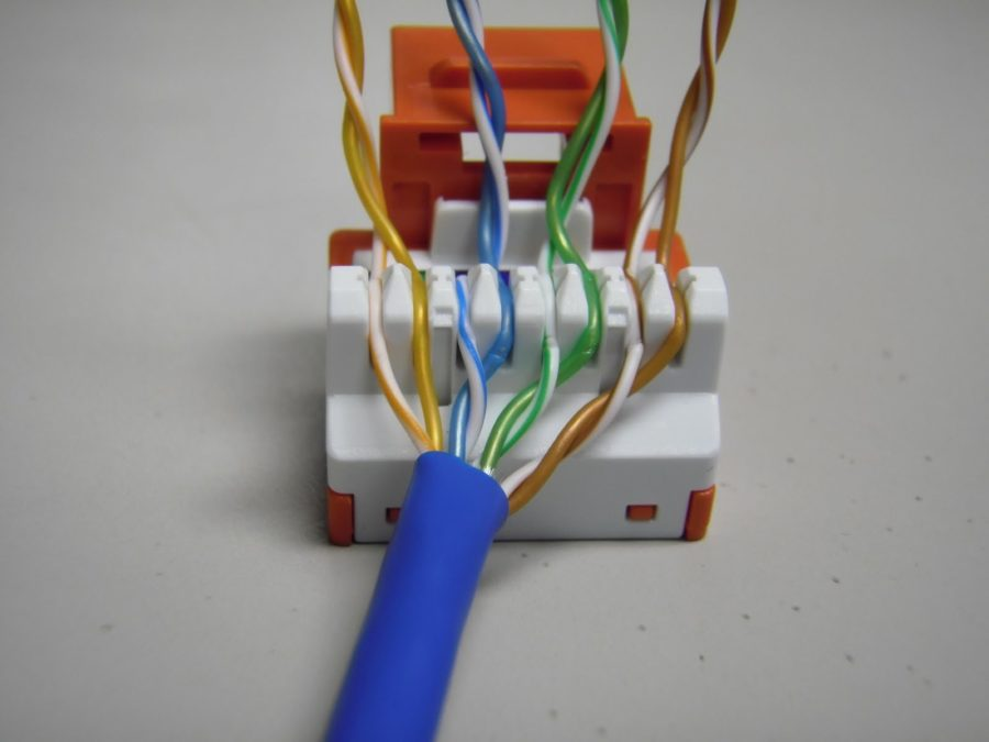 Outlet Cat 5 Wire Diagram