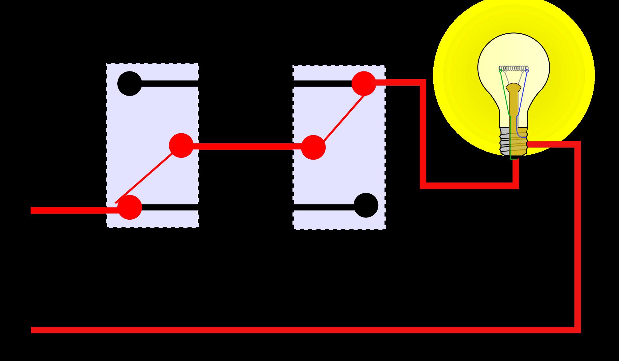 Basic Three-Way Switch Diagram