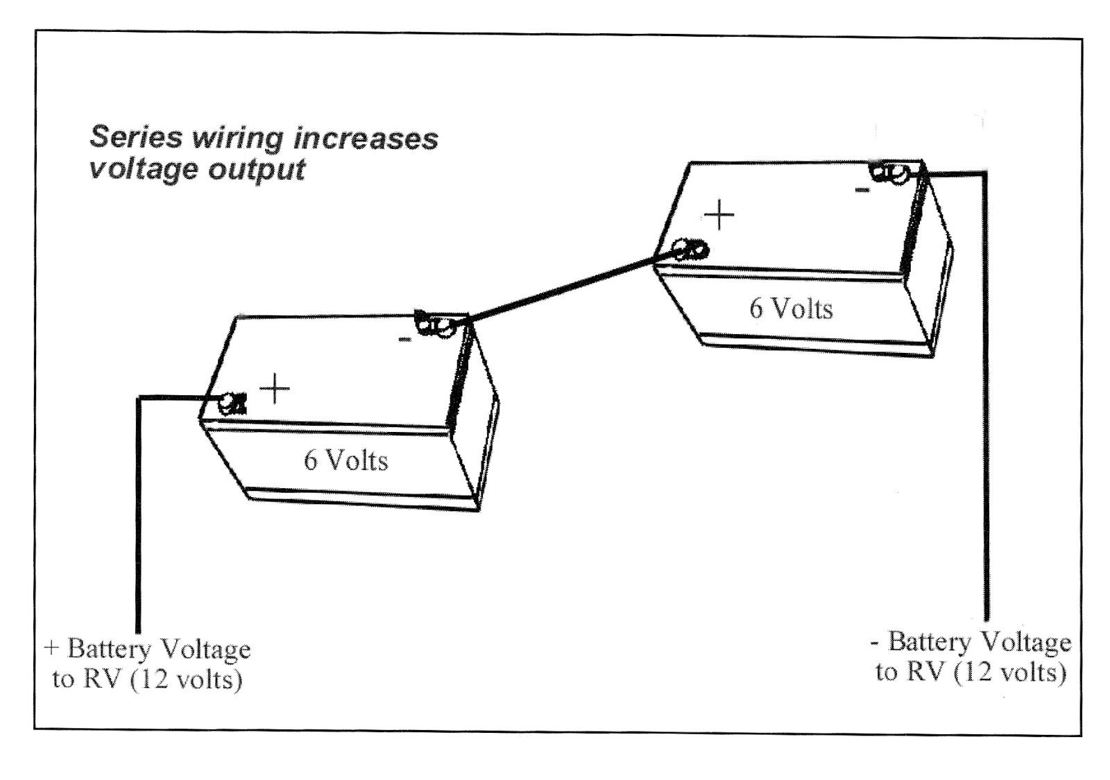 12 Volt Battery Diagram