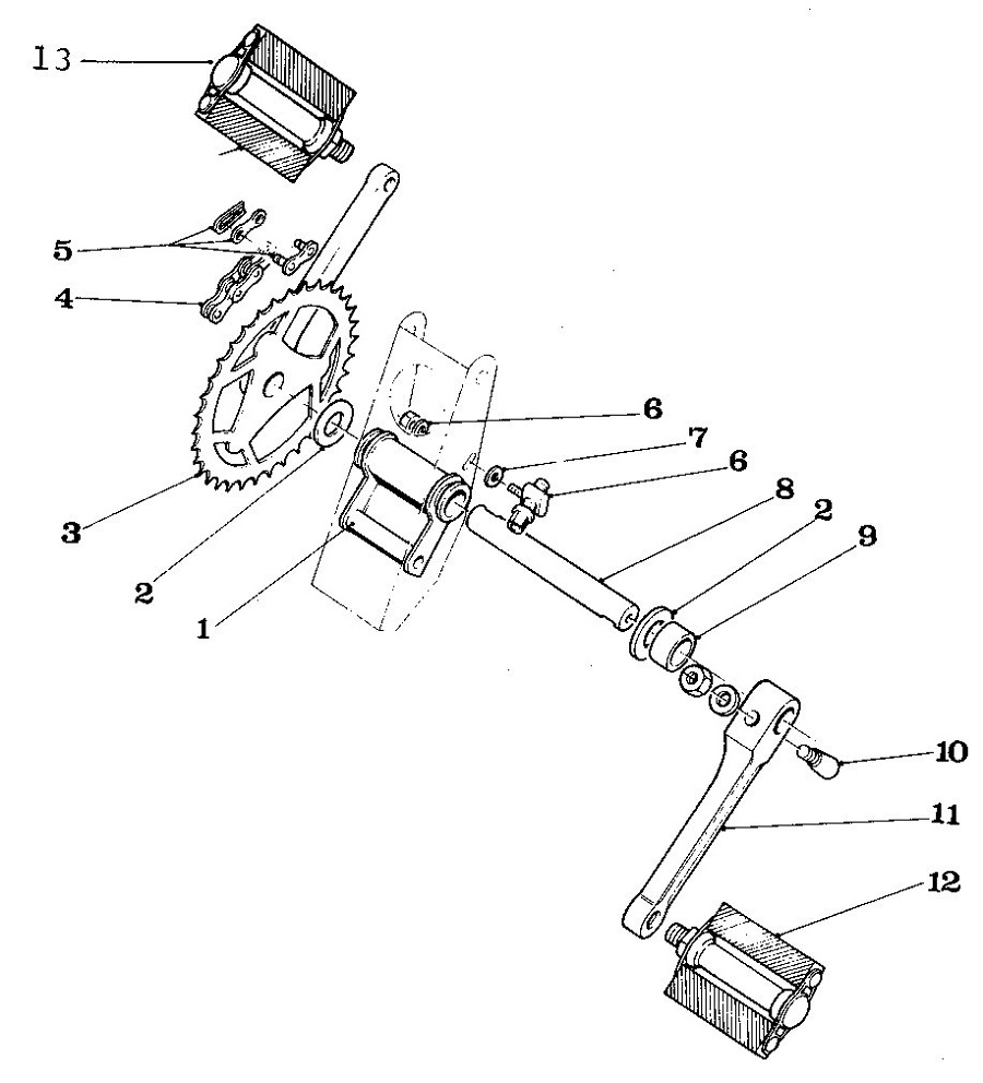 Bicycle Diagram Assembly
