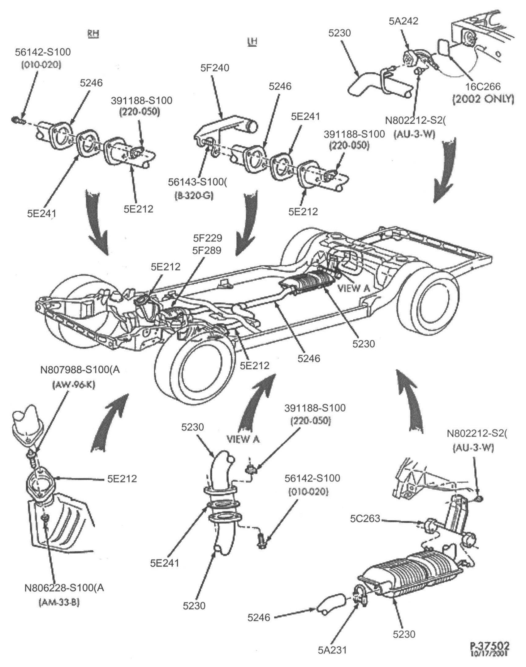 Parts Exhaust Diagram