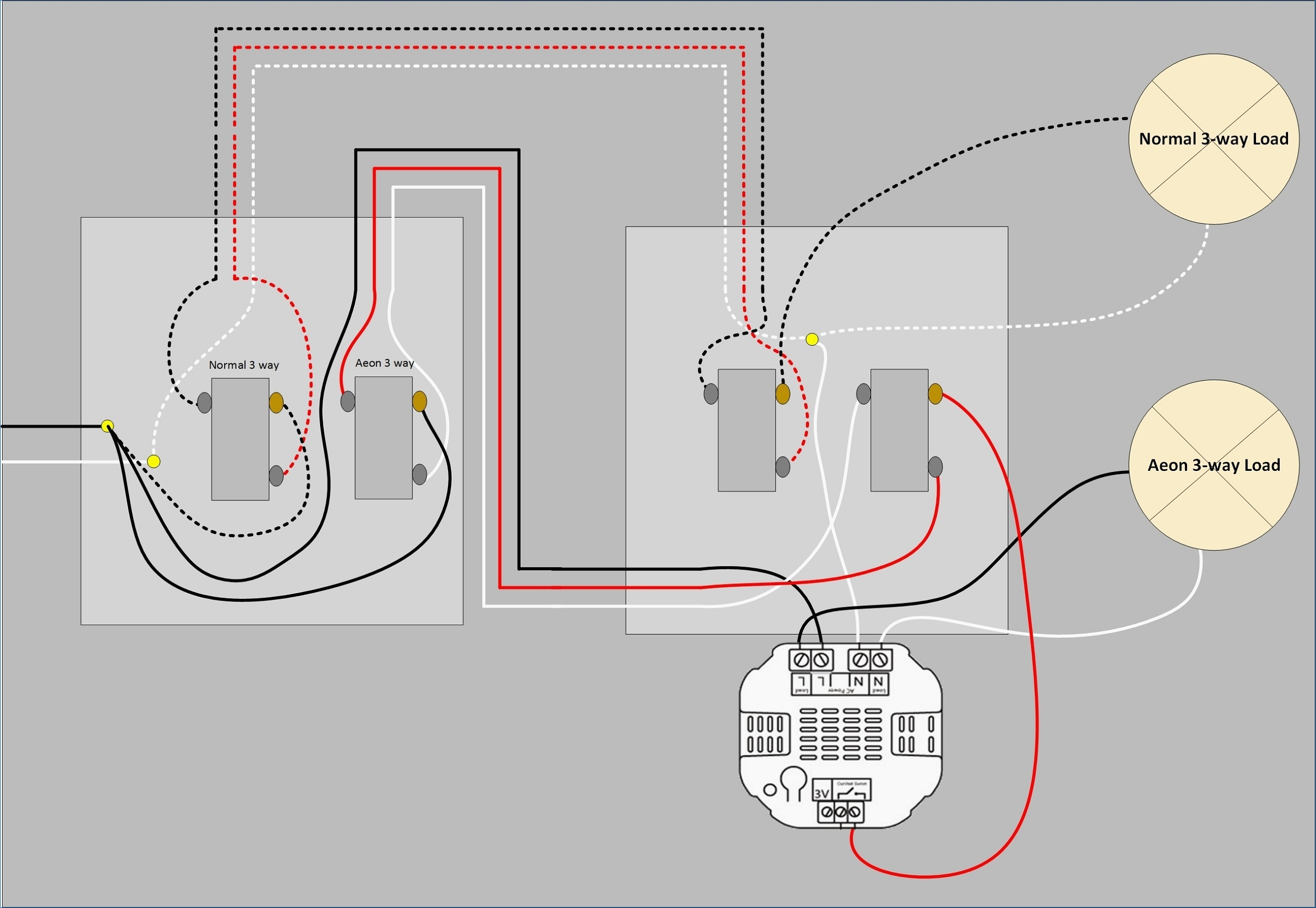 Light Switch Diagram Multiple Lights