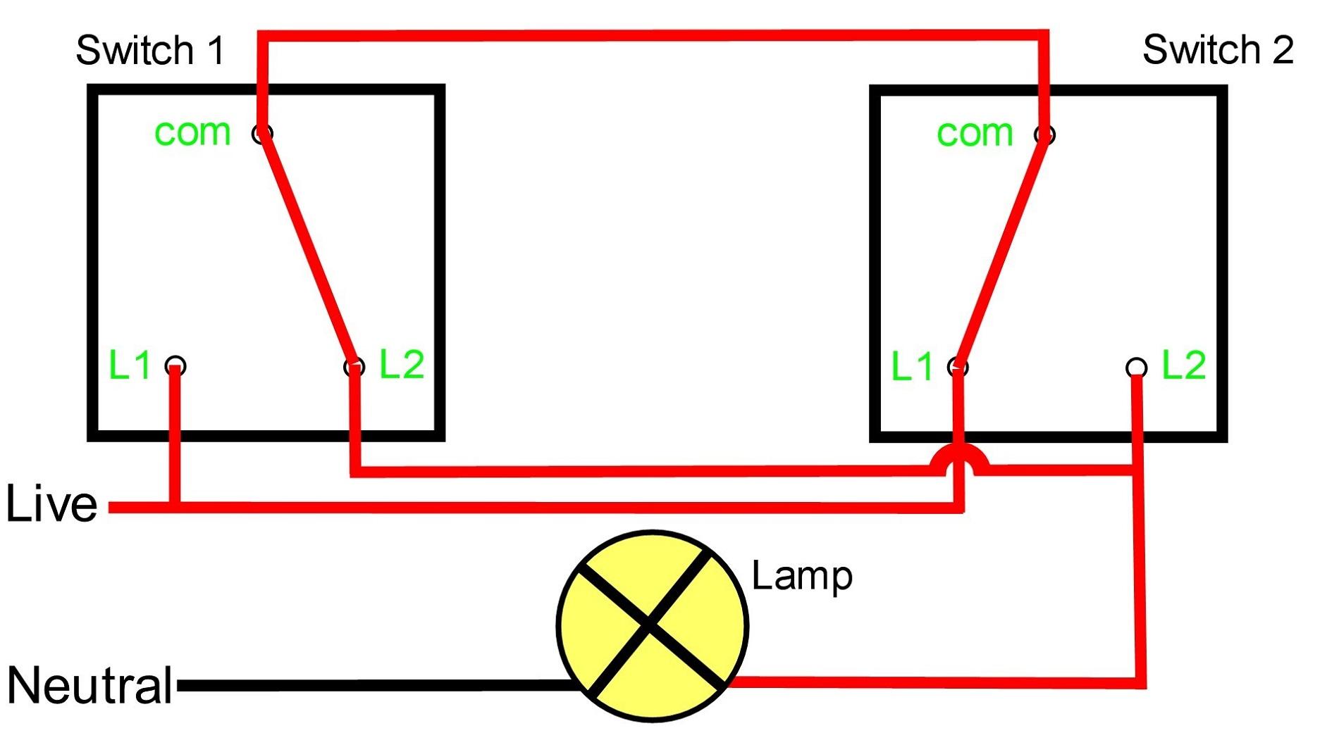 Simple Light Switch Diagram